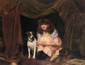 The Hiding Place Artwork by Charles Burton Barber
