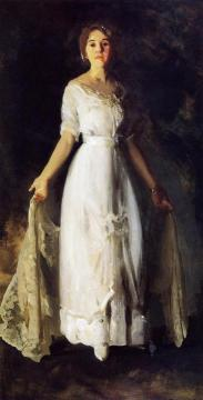 Mrs. Albert M. Miller Artwork by George Wesley Bellows