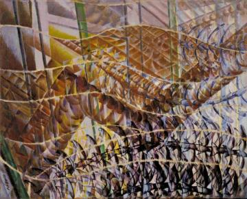 Swifts: Path Of Movement And Dynamic Sequences Artwork by Giacomo Balla