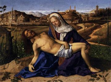 Pieta Artwork by Giovanni Bellini