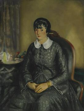 Portrait Of Mary Mckinnon Artwork by George Wesley Bellows