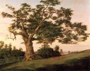 The Charter Oak Artwork by Charles De Wolf Brownell