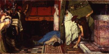 A Roman Emperor - Claudius Artwork by Sir Lawrence Alma-Tadema