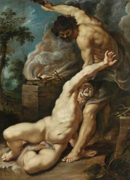 Cain Slaying Abel Artwork by Peter Paul Rubens