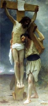 Compassion Artwork by William Adolphe Bouguereau