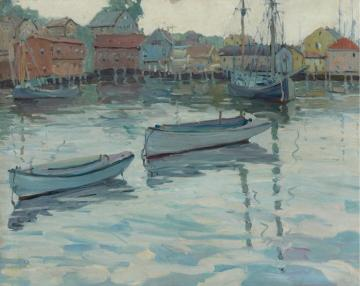 Harbor At Gloucester Artwork by Jane Peterson