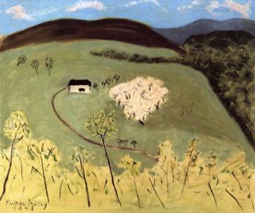 Apple Orchard in Bloom Artwork by Milton Avery