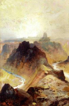 Grand Canyon, Utah Artwork by Thomas Moran