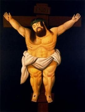 Cristo Artwork by Fernando Botero