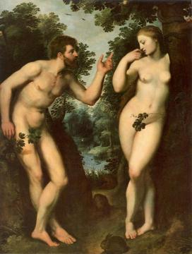 Adam And Eve Artwork by Peter Paul Rubens