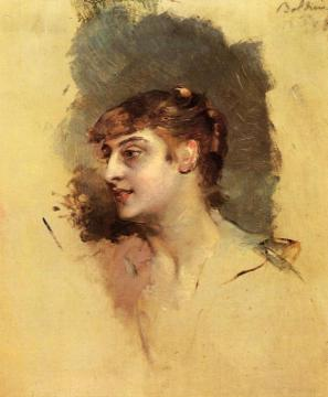 Portrait of a Lady Artwork by Giovanni Boldini
