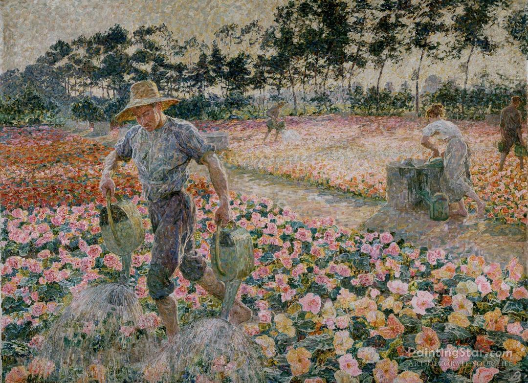 The Gardener Artwork By Jenny Montigny