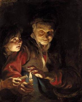 Night Scene Artwork by Peter Paul Rubens