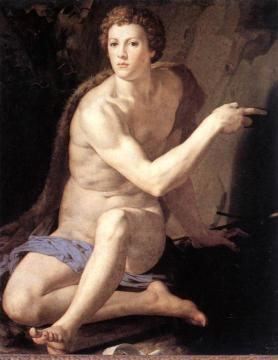 St John the Baptist Artwork by Agnolo Bronzino