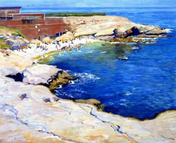 La Jolla Cove Artwork by Alson Skinner Clark