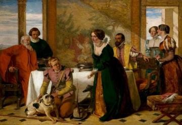 Launce's Substitute for Proteus' Dog Artwork by Augustus Leopold Egg