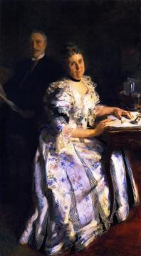 Mr. and Mrs. Anson Phelps Stokes Artwork by Cecilia Beaux