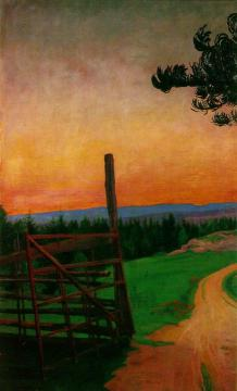 Country Road Artwork by Harald Oskar Sohlberg