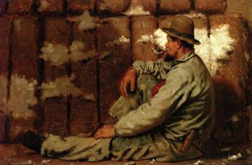 A Longshoreman Artwork by John George Brown