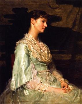 Ethel Page As Undine Artwork by Cecilia Beaux