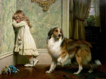 A Special Pleader Artwork by Charles Burton Barber
