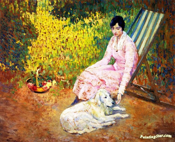 Viola And Major Artwork by Alson Skinner Clark