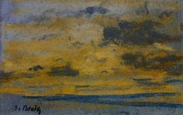 Seascape Artwork by Eugène-Louis Boudin