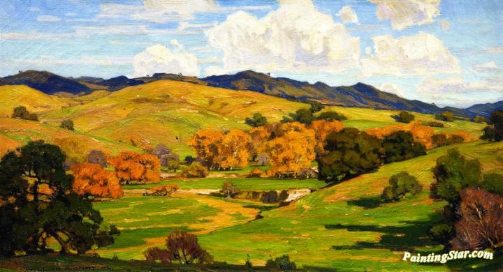 California Landscape, Art Painting by William Wendt