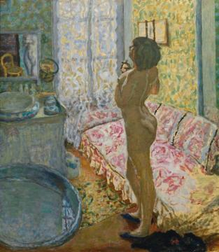 The Bathroom Artwork by Pierre Bonnard