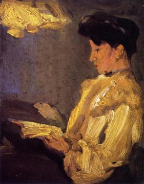 Lamplight Artwork by John Duncan Fergusson