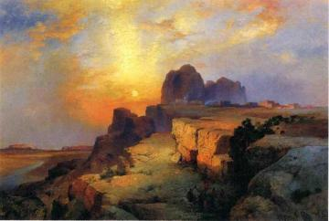 Hopi Museum, Arizona Artwork by Thomas Moran