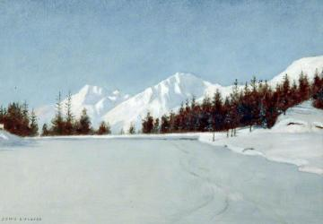 Montana, Canada Artwork by John Maler Collier