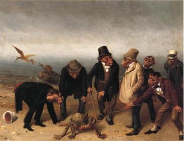 Discovery of Adam Artwork by William Holbrook Beard