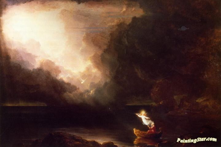 bfbf29ccf1 The Voyage Of Life: Old Age Artwork By Thomas Cole Oil Painting ...