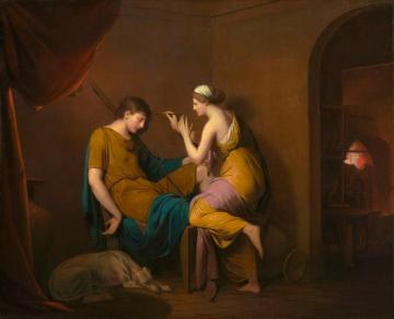 The Corinthian Maid Artwork by Joseph Wright of Derby