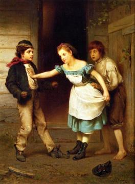 The Peacemaker Artwork by John George Brown