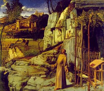 St. Francis in Ecstasy Artwork by Giovanni Bellini