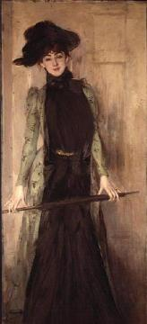 Princesse de Caraman Chimay (later Madame Jourdan) Artwork by Giovanni Boldini