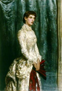 Mrs Harland Peck Artwork by John Maler Collier