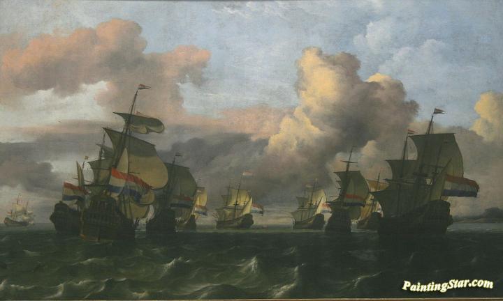 The Return Of The Fleet Of Dutch East India Company