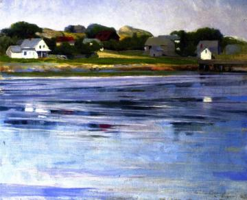 Half-tide, Annisquam River Artwork by Cecilia Beaux