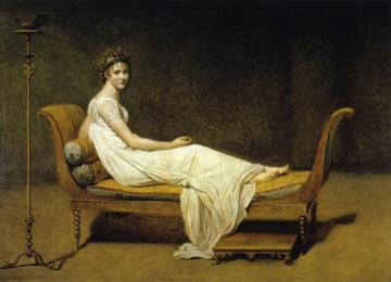 Juliette Recamier Artwork by Jacques Louis David