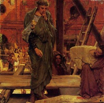 Architecture in Ancient Rome Artwork by Sir Lawrence Alma-Tadema