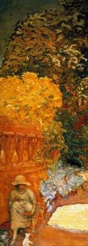 Mediterranean. Triptych (left hand panel) Artwork by Pierre Bonnard