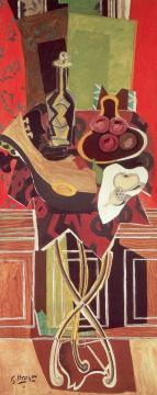 The Red Table Artwork by Georges Braque