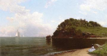 Eagle Head, Manchester-by-the-sea Artwork by Alfred Thompson Bricher