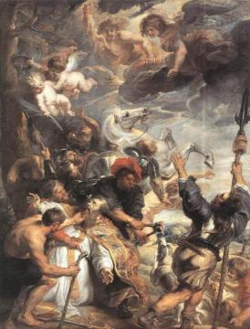 The Martyrdom of St Livinus Artwork by Peter Paul Rubens