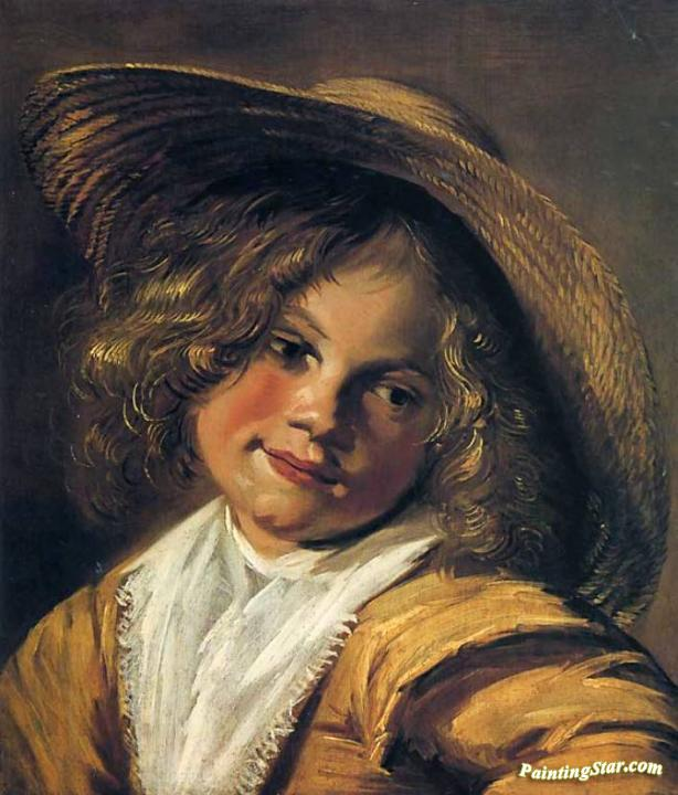 Girl With Straw Hat, Art Painting by Judith Leyster
