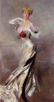 Portrait Of The Countess Zichy Artwork by Giovanni Boldini