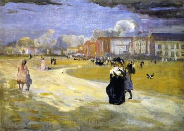 Dieppe Artwork by Charles Conder